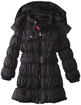 Amazon.com: Pink Platinum Girls' Long Puffer Coat: Clothing