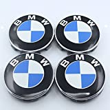 bmw rims x5 - CzlpV 4 Pcs Emblem Logo Badge Hub Wheel Rim Center Cap 68mm For BMW