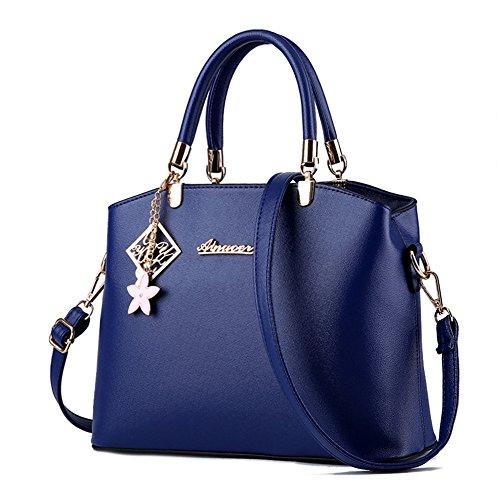 HerHe - Bolsa Mujer azul marino