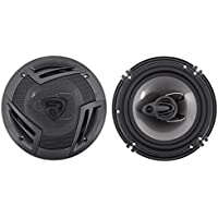 Pair Rockville RV6.3A 6.5 3-Way Car Speakers 750 Watts/140 Watts RMS CEA Rated