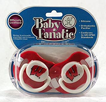 Amazon.com: NCAA infantil Chupete – Bebé Fanatic, 2-pack ...