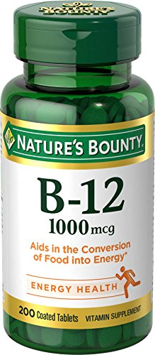 Natures Bounty Vitamin B-12 1000 Mcg Tablets, Value Size - 200 Ea