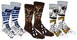 Star Wars Mens Casual Crew Socks 3 Pair Pack