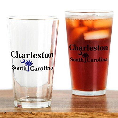 CafePress Charleston South Carolina Pint Glass Pint Glass, 16 oz. Drinking Glass]()