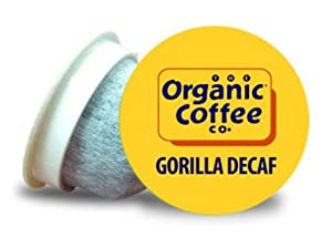 Organic Coffee Co. OneCup Gorilla DECAF