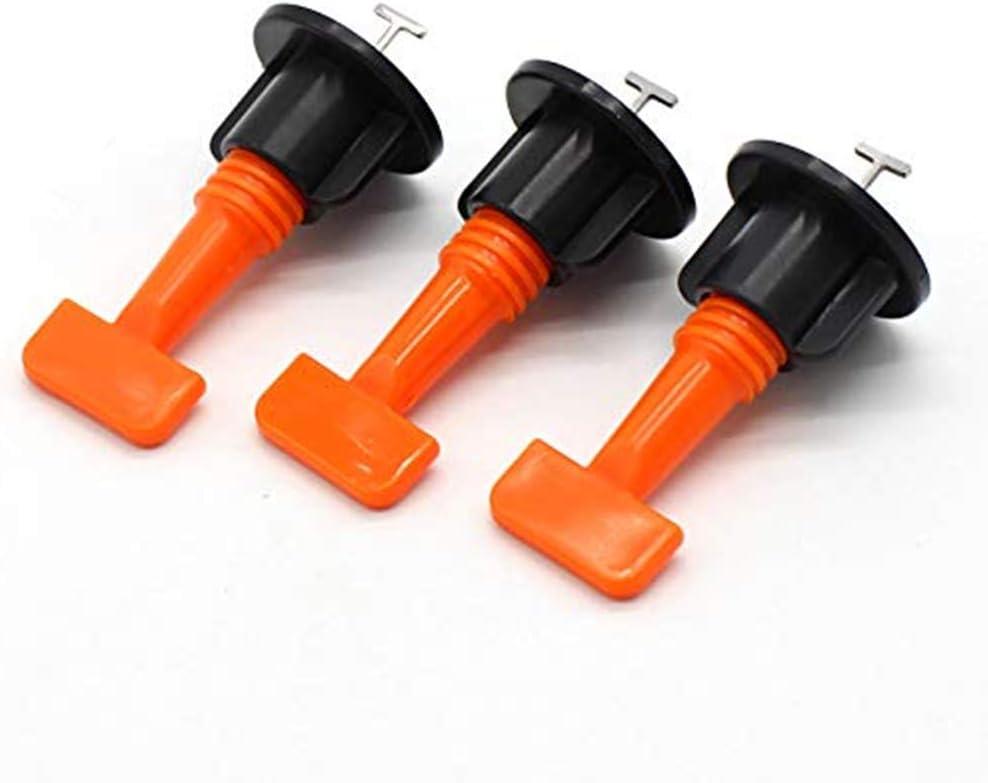 Fliesen-Nivelliersystem-Kits Fliesenabstandhalter Set DIY f/ür den Bau von W/änden und B/öden 50 St/ück Fliesenausgleicher mit Spezial-Schraubenschl/üssel wiederverwendbar