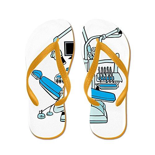 Dentista Cafepress - Infradito, Sandali Infradito Divertenti, Sandali Da Spiaggia Arancione