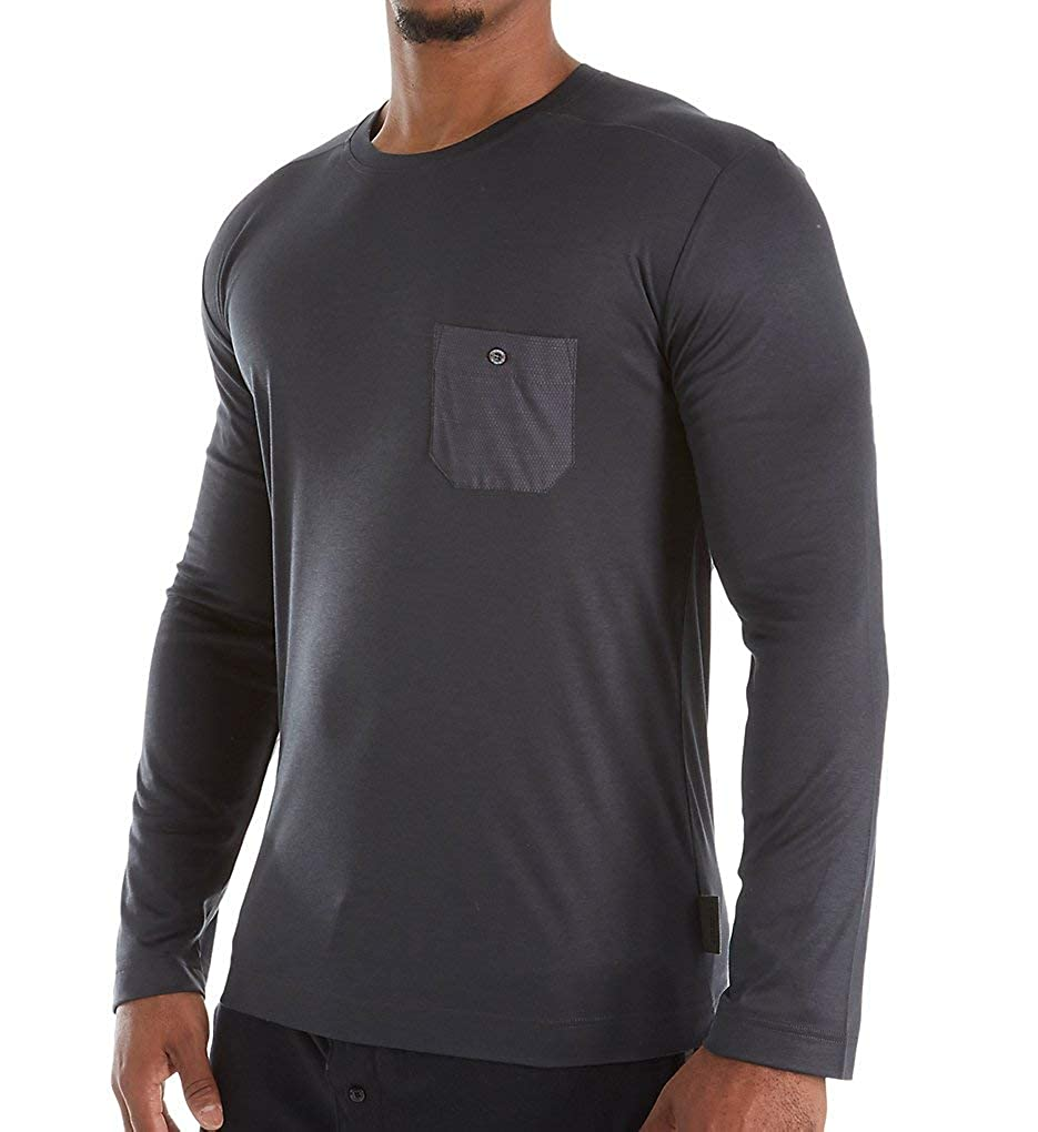 Zimmerli 8520 Jersey Loungewear T-Shirt Longsleeve Shirt Herren
