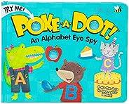 Melissa & Doug Children's Book - Poke-a-Dot: an Alphabet Eye Spy (Board Book with Buttons