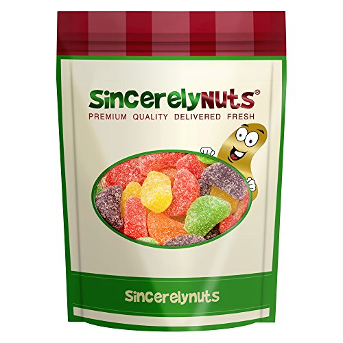 Sincerely Nuts Assorted Fruit Slices- Two Lbs. Bag - Inexplicably Delish - Appetizing Array of Flavors - Soft & Deliciously Chewy - Remarkable - Bags Lemon Slice