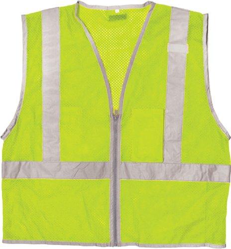 Economy Cool Mesh Vest (ML Kishigo 1507 Ultra-Cool Polyester Brilliant Series Economy Vest, Large, Lime)