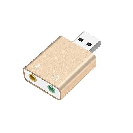 Tarjeta de sonido externa USB al adaptador USB para ...