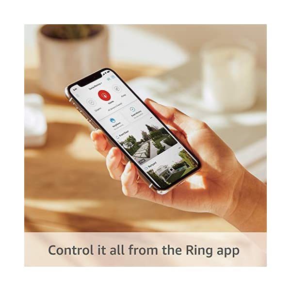 Ring Alarm 5-piece kit (2nd Gen) – home security system with optional 24/7 professional monitoring – Works with Alexa 4