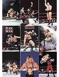 WRESTLING WWF SMACK DOWN 1999 COMIC IMAGES COMPLETE BASE CARD SET OF 72