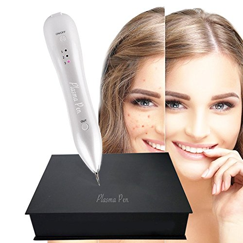 Plasma Pen Dot Mole Removal, Perfect for Mole, Skin tag, Nevus, Freckles, Dark Spot, Birth Mark, Skin Pigmentation, Age Spots. Lightweight, Portable Beauty Pen Kit | USB Rechargable.