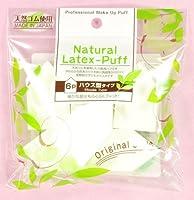 ISHIHARA Natural Latex Cosmetic Sponge Professional House Shape