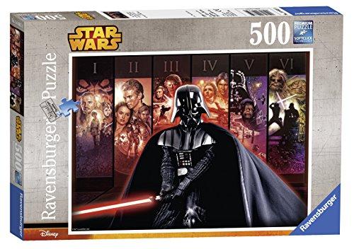 Ravensburger Star Wars Episode I-VI Universe Jigsaw Puzzle (500-Piece)