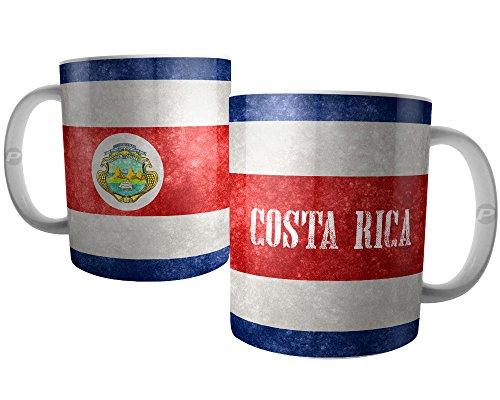 Caneca Bandeira da Costa Rica