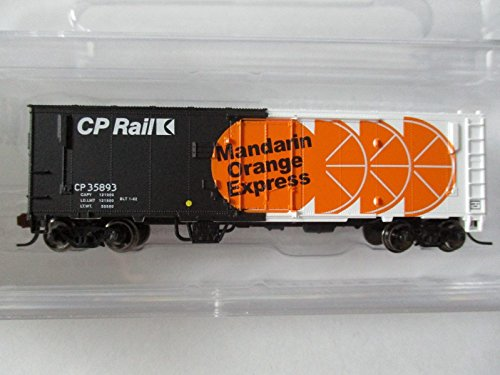 N Scale MTL #74020 40' Plug Door Boxcar CP Rail Mandarin Express ()