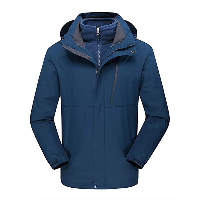 Amazon.com: Insun Mens Thick Warm Outdoor Waterproof ...