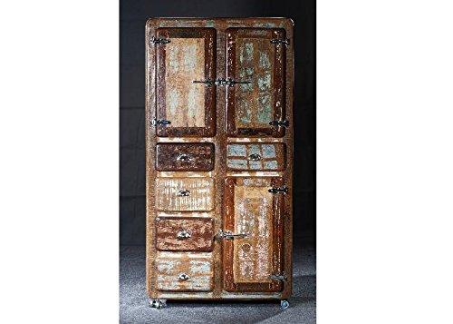 Armario de Nevera SIT de muebles de madera vieja de varios ...