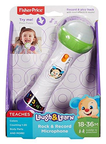 c172aeeb3 Fisher-Price FBP31 Micrófono de Juguete Juguete Musical - Juguetes  Musicales (Micrófono de Juguete, 1,5 año(s), 3 año(s), Niño/niña,,  plástico): Amazon.es: ...