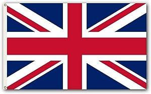 Shoe String King SSK England - UK Outdoor Flag - Large 3' x 5', Weather-Resistant Polyester