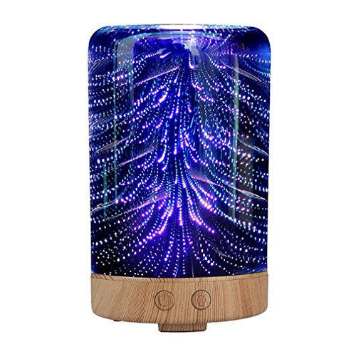 JS002 3D Originality Aromatherapy Diffuser Aroma Humidifier Night Light for Office Home Bedroom Baby Room Study Yoga Spa by ZDEGREE