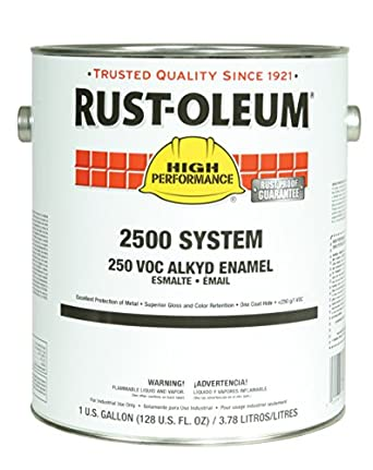 Rust-Oleum 215957 Safety Blue High Performance 2500 System
