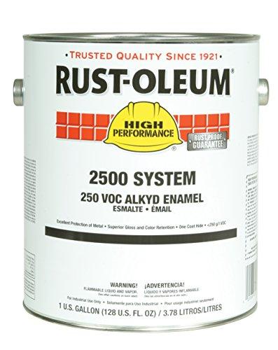 (Rust-Oleum 215958 Rusty Metal Primer High Performance 2500 System 250 VOC DTM Alkyd Enamel Primer, 1 gal Can (Pack of 2))