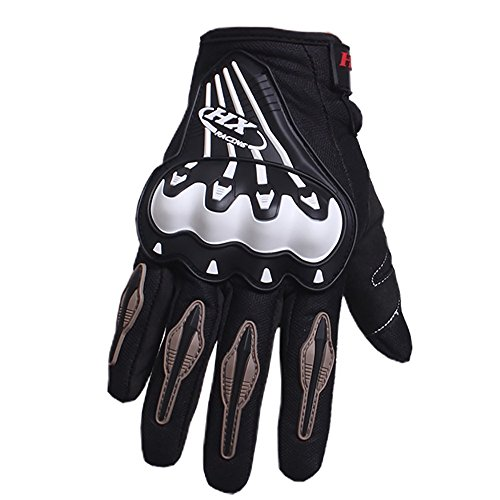 PRO-BIKER Motorbike mitts Gloves Motorcycle Moto Luvas Motociclismo Para Guantes motocross Racing Motorcycler gloves (M, Black)