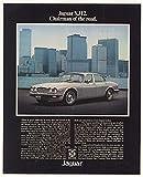 1977 Jaguar XJ12 Sedan New York City WTC World Trade Center Photo Original Print Ad (41236)