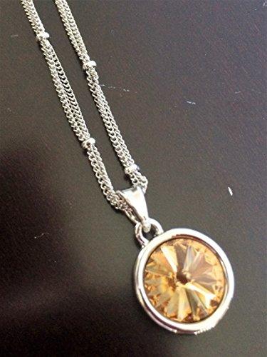 Swarovski Triple Strand Necklace - Necklace