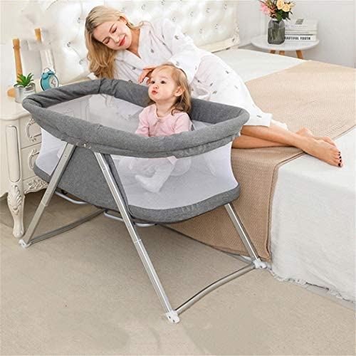 ECE ベビーベッド ポータブルベビーベッド通気性新生児折りたたみベビーベッド 蚊帳 軽量 通気性良