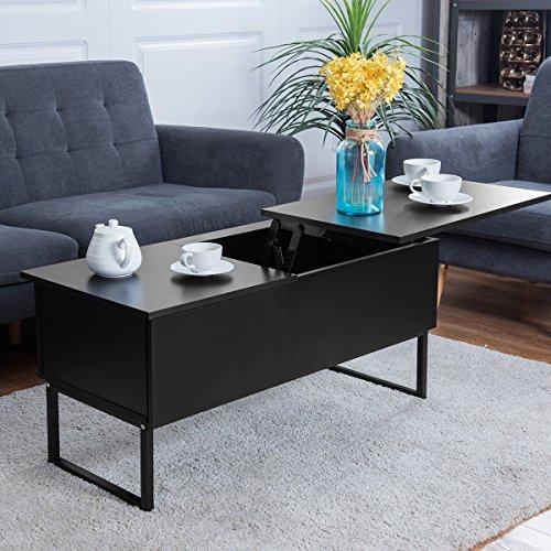 Coffee Table Hidden Chairs: Tangkula Coffee Table Lift Top Home Living Room Modern