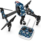Skin For DJI Inspire 1 Quadcopter Drone – Saltwater Compass | MightySkins Protective, Durable, and Unique Vinyl Decal wrap cover | Easy To Apply, Remove, and Change Styles | Made in the USA