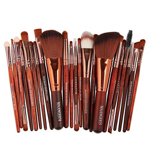 Unpara 22pc MAANGE Makeup Brush Blusher Eye Shadow Eyebow Face Brushes Set Cosmetic Kit