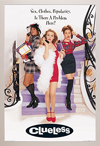 clueless movie poster a white