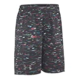 Under Armour Boys' Toddler Edge Camo Boost Short, Black-S192, 4T