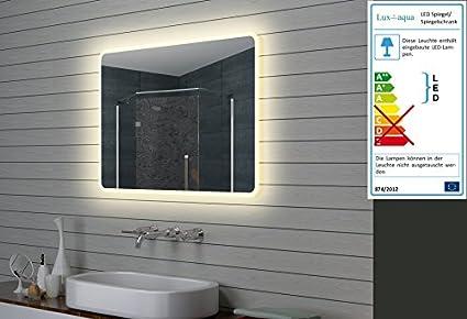 Lux Aqua Design LED specchio luce specchio bagno specchio da parete ...