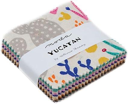 Patchwork Quilting 2.5 Inch Squares Moda Fabric Farm Fresh Mini Charm