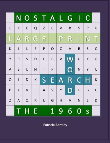 Read Online Nostalgic Large Print Word Search: The 1960s ebook