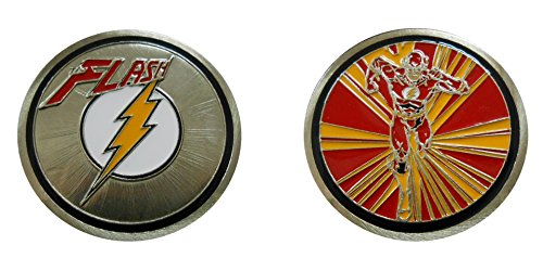 Flash - Character Collectible Challenge Coin / Logo Poker / Lucky Chip by Coin and Coins