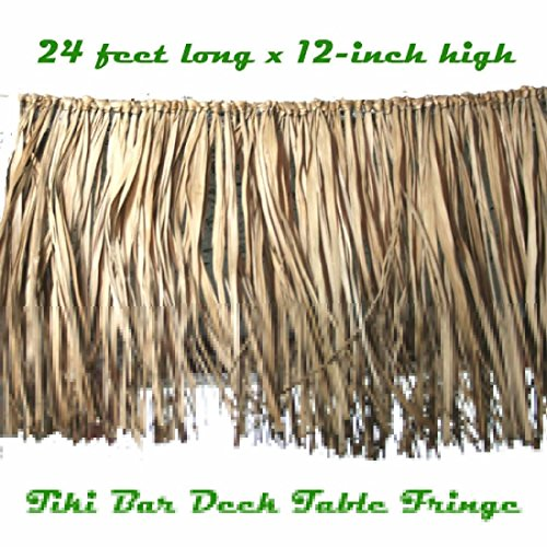 Cosplay Costumes Philippines (Tropical Luau Decoration REAL RAFFIA DECK FRINGE GARLAND Tiki Bar Grass Thatch)