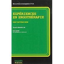 Experiences En Ergotherapie Vingt Septieme Serie - 2014