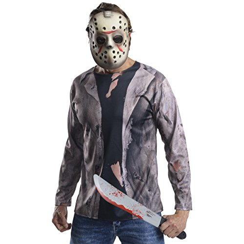 Rubie's Men's Friday 13th Jason Costume Accessory Kit, Multicolor, ()