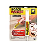 BulbHead Original Roach Doctor Cockroach Gel Ready-to-Use Cockroach Gel Bait - Outdoor & Indoor Roach Killer Syringe Applicator