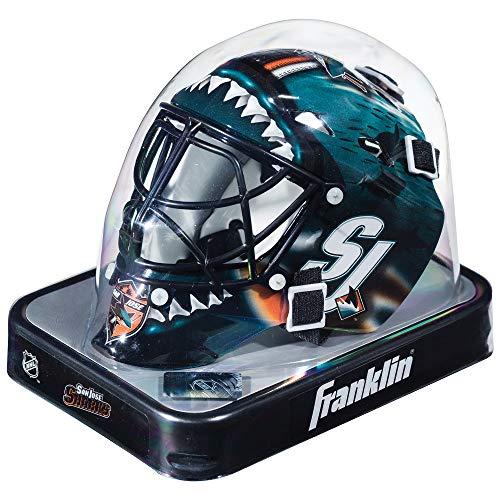 (Franklin Sports NHL League Logo San Jose Sharks Mini Goalie Mask)