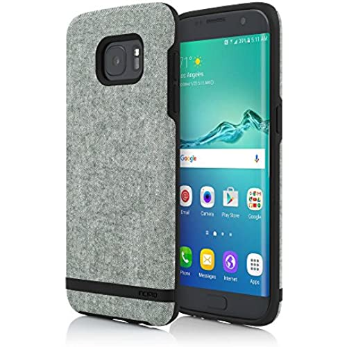 Samsung Galaxy S7 edge case, Incipio Preston, [Esquire Series] Fabric Patterned Cut-Out Ultra-Light Cover - Olive Sales