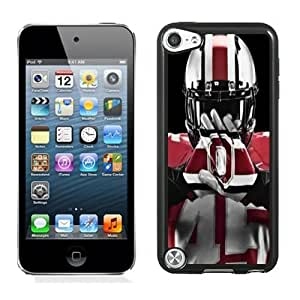 Personalized Ipod Touch 5 Case,Easy Use Ipod 5th Case Design with Ohio State Football Cell Phone Case for Ipod Touch 5 5th Generation in Black